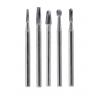 QUALITE Surgical Length Carbide Burs